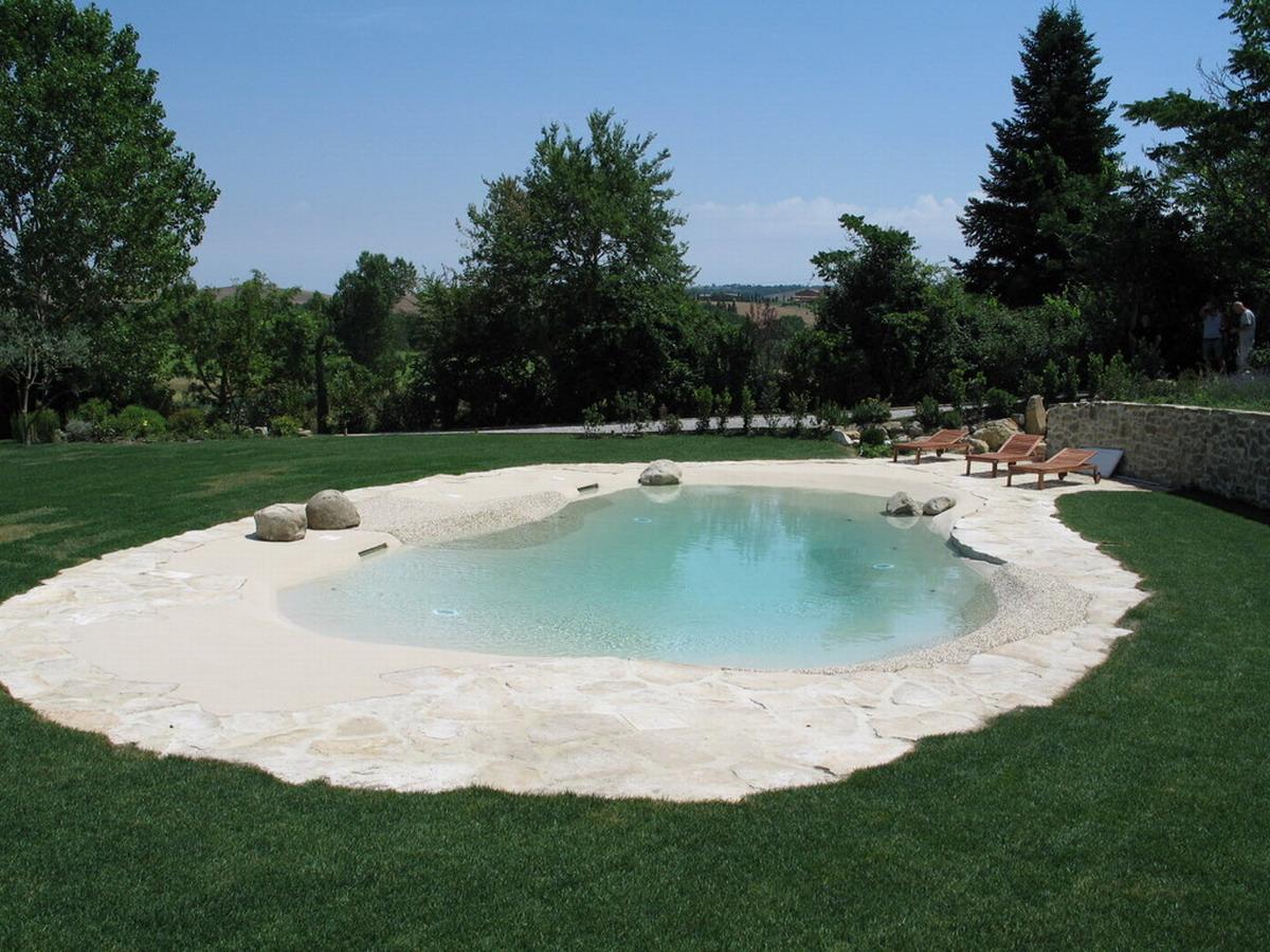 Benza realizzazione di piscine prefabbricate bio for Piscina resina