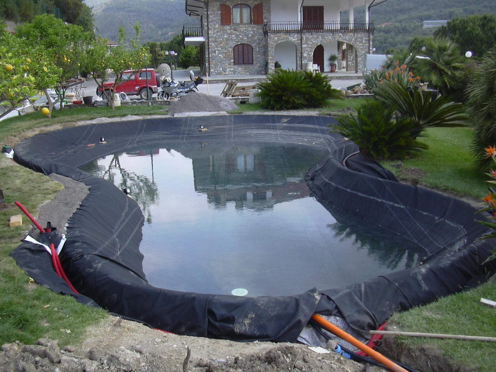 Benza laghetti da giardino cascate e ruscelli artificiali for Immagini di laghetti artificiali