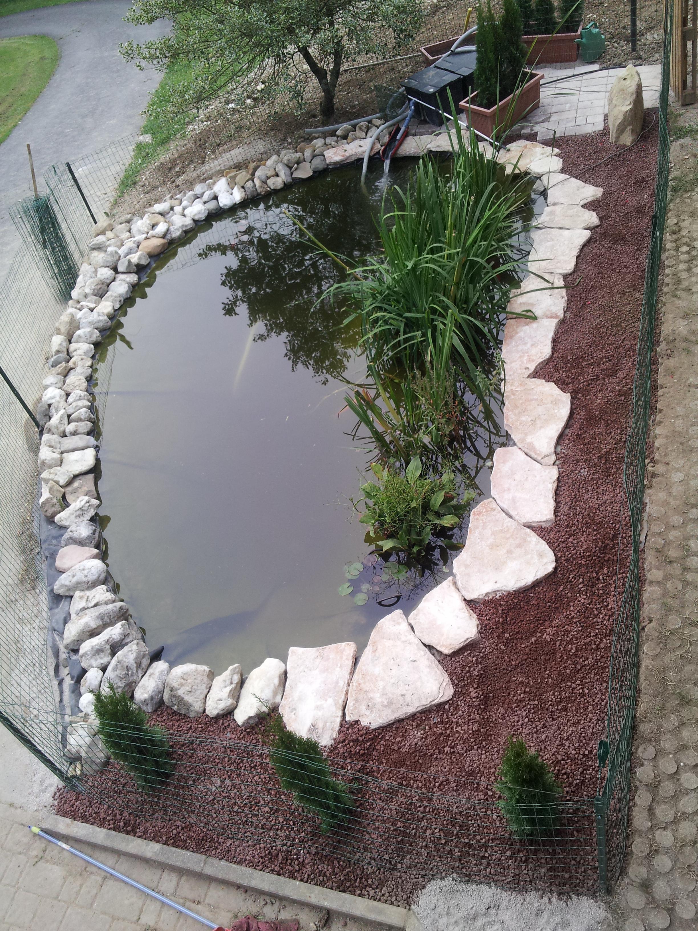 Benza laghetti da giardino cascate e ruscelli artificiali for Vasca per anatre