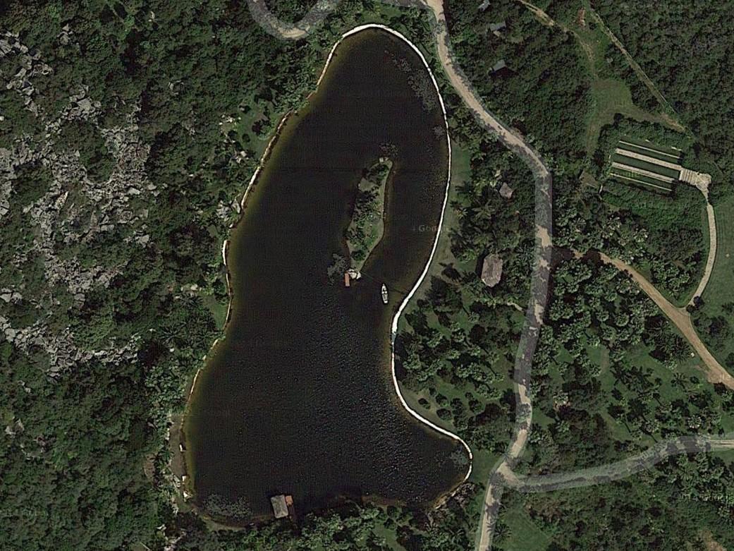 spesso BENZA: Grandi laghi artificiali ornamentali RS05