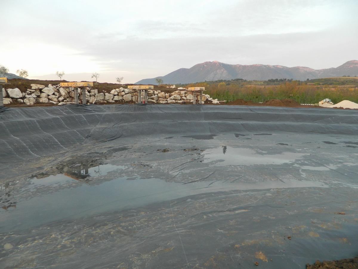 Benza laghi per la pesca sportiva e sport wakeboard canoa for Teli per laghi artificiali
