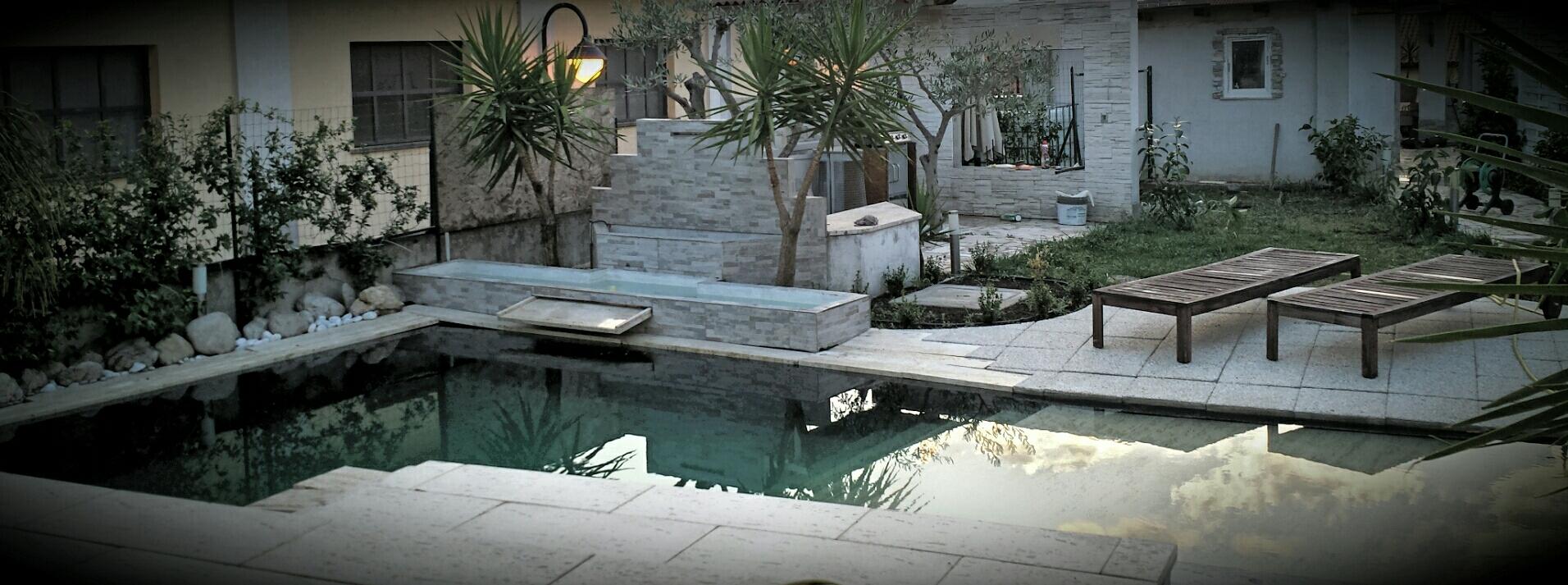 Benza laghetti da giardino cascate e ruscelli artificiali for Teli laghetto giardino