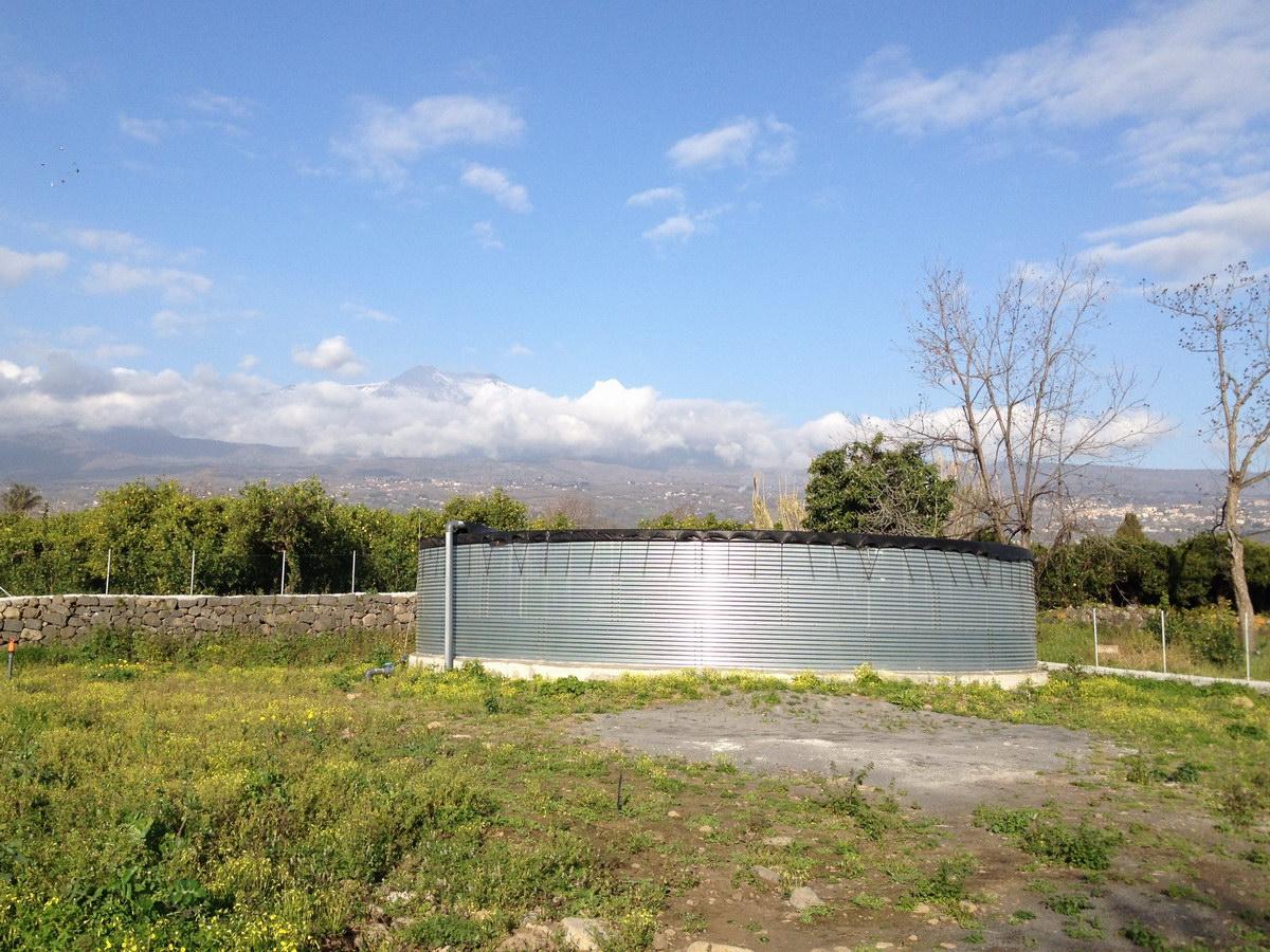 Vasca Da Bagno Zincata : Benza: vasche prefabbricate di acciaio zincato