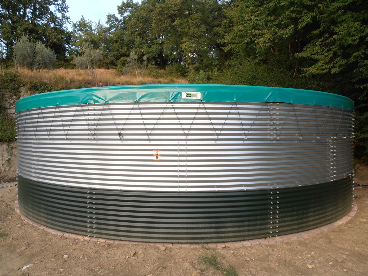Vasca Da Bagno In Lamiera Zincata : Benza: vasche prefabbricate di acciaio zincato