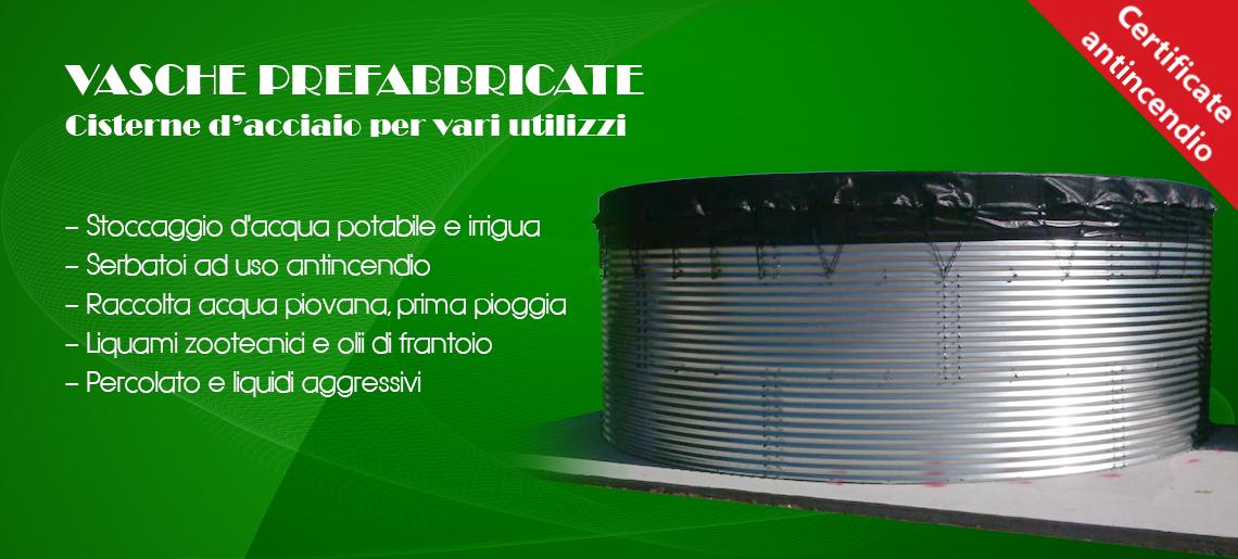 Benza Riserve D Acqua Vasche Prefabbricate Di Acciaio